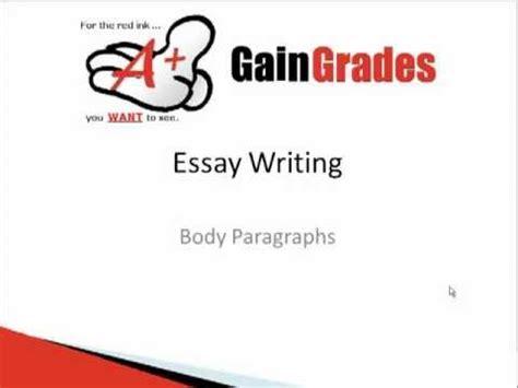 How to write a good essay university level